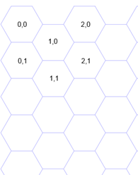 NumberedHexagonalTiles